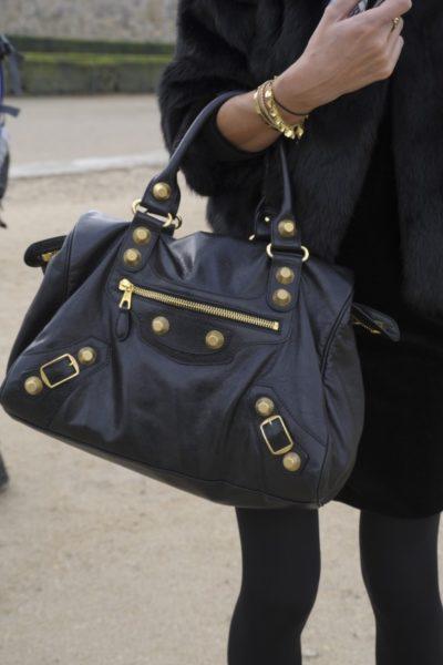 """""""City""""-Bag von Balenciaga, im Volksmund auch """"Motorcycle-bag"""" genannt"""