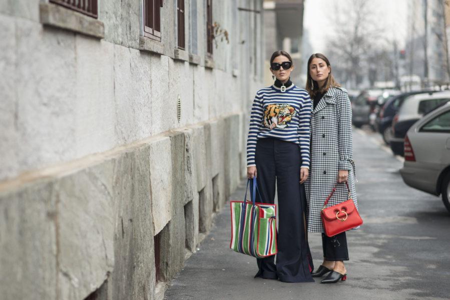 The charming sister duo Sylvia and Julia Haghjoo