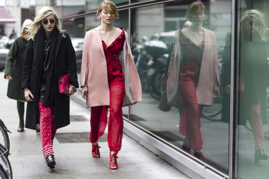 "Claudia ""Cloudy"" Zackrocki (Refinery29) und Lisa Banholzer (Blogger Bazaar)"