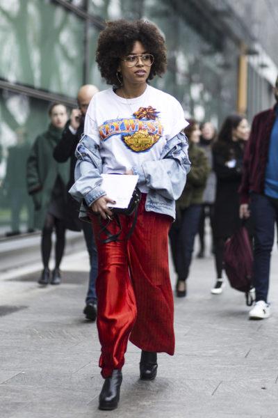 Aminata Belli, Fashion Assistant Grazia & YouTuberin