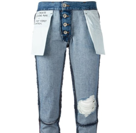 ​Genius or bizarre? The inside-out jeans by Unravel Project