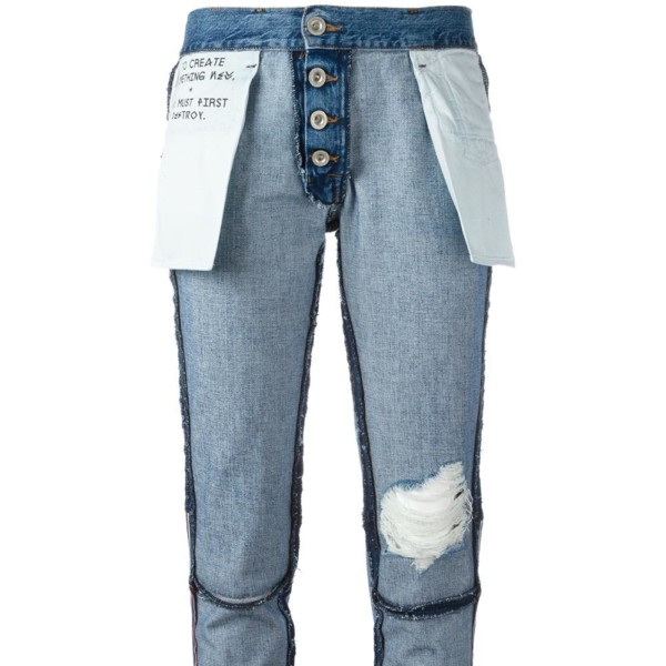 Genial oder bizarr? Die Inside-out-Jeans von Unravel Project