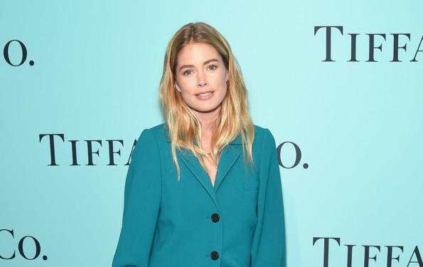 Model Doutzen Kroes Celine Suit Style Tiffany