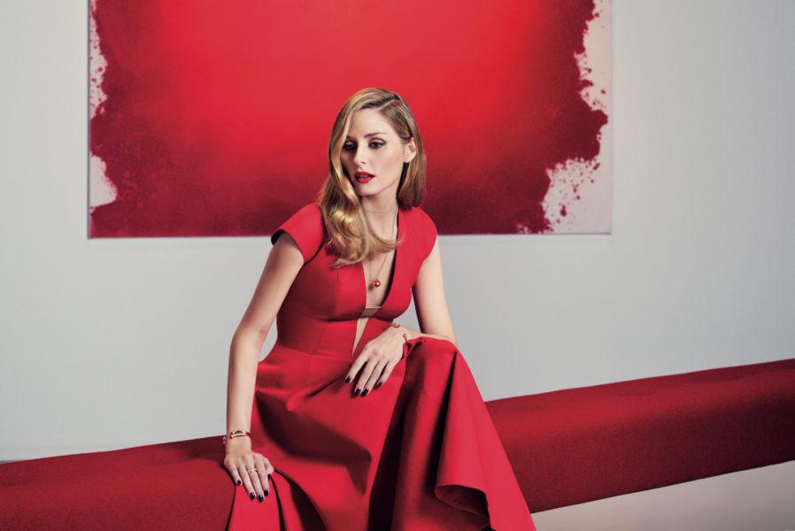 Olivia Palermo mit dem roten Karneol