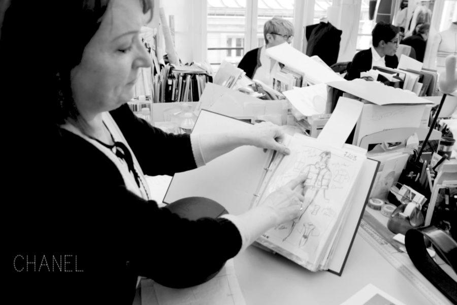 """Chanel-Schneiderin Madame Josette in """"Was ist Haute Couture?"""" von Arte"""