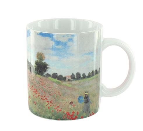 Tasse mit Claude Monets Poppies