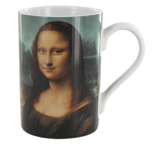 Mug mit Da Vincis La Joconde