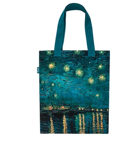 Tote Bag mit Van Goghs Sternennacht