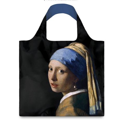 """Shopper mit Vermeers """"Das Mädchen mit dem Perlenohrgehänge"""""""