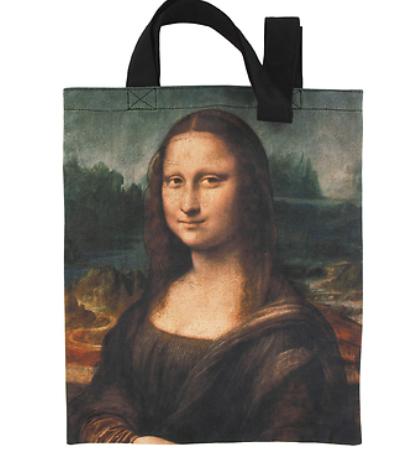 Shopper mit Da Vincis La Joconde