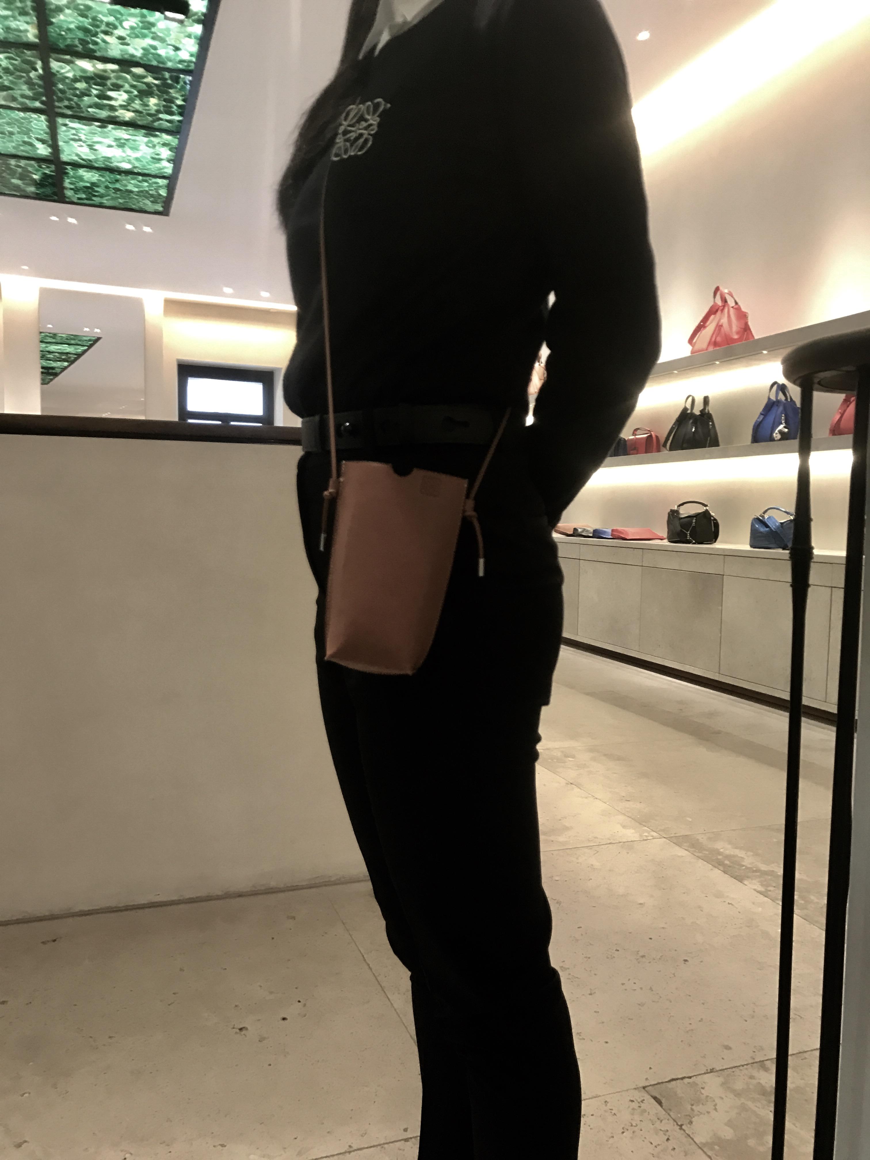 Modetrend 2017_ Brustbeutel Loewe
