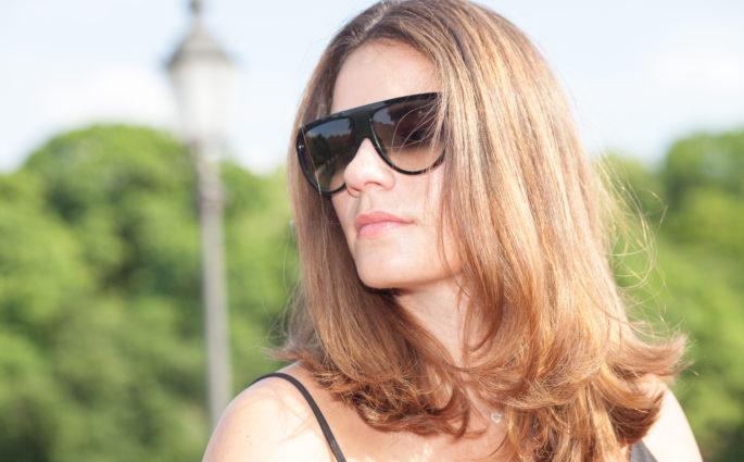 Umstyling: Von Braun zu Blond dank Bright Contouring
