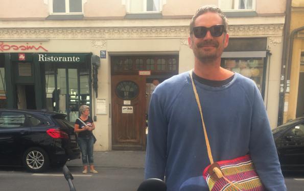 Niels Jaeger Modepilot Street Style Tasche