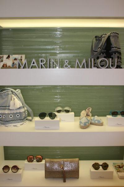 Regalfläche im Shop-in-Shop von Marin & Milou am Neuen Wall in Hamburg