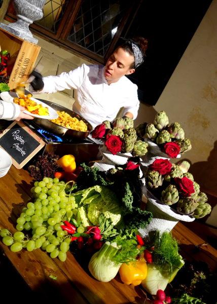 Die Nudelspeziaitäten bei Diner von Brunello Cucinelli