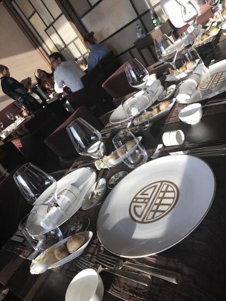 Das japanische Gourmet-Restaurant Sakura