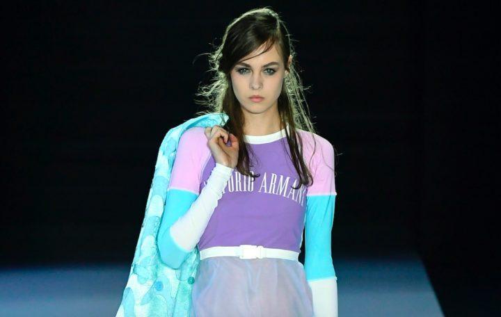 Emporio Armani Modepilot Farben Sommer 2018