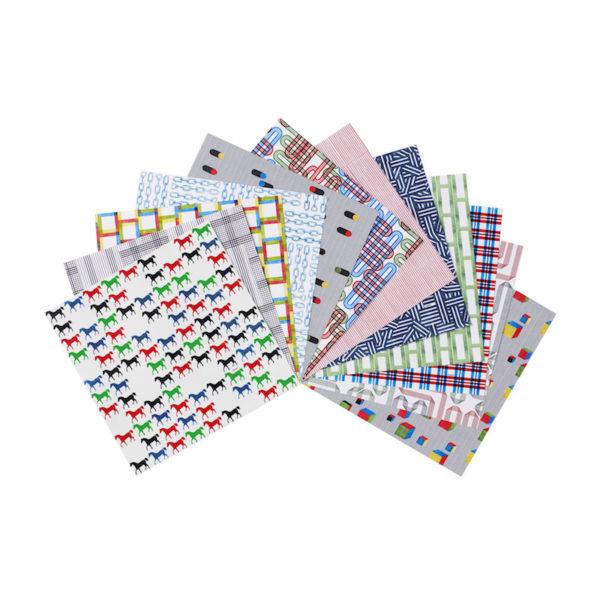 Origami-Papier-Set von Hermès: 24 Bögen à 20 mal 20 cm