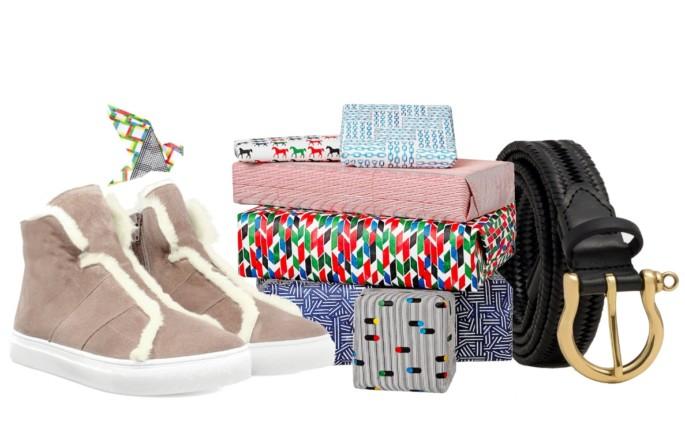 Kennel Schmenger Lammfell Sneaker Modepilot Oktober 2017 Dalgado Hermes Papier Geschenkpapier