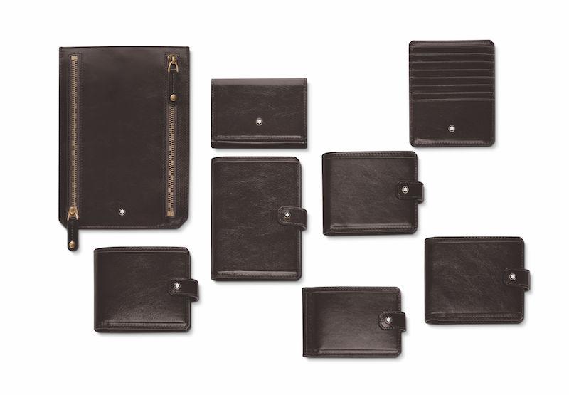 Geldbeutel, Kreditkartenhalter und Dokumentenmappe
