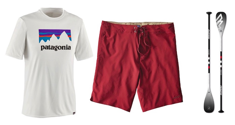 Patagonia Shirt Short Modepilot SUP Stand up Paddle