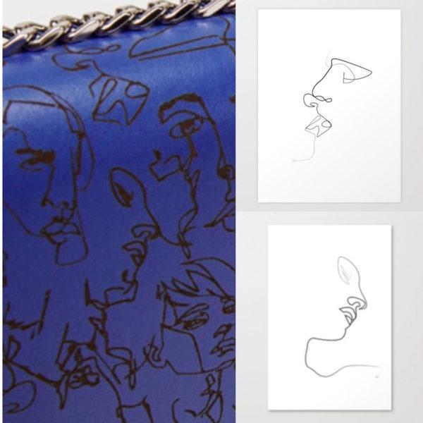 … und noch mehr Zeichnungen von Christophe Louis Quibe bei Zara