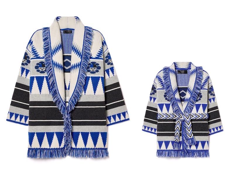 Alanui-Jacken in Colette-Blau: Jacke für Mama oder Papa, circa 2.500 Euro. Jacke fürs Kind: 960 Euro