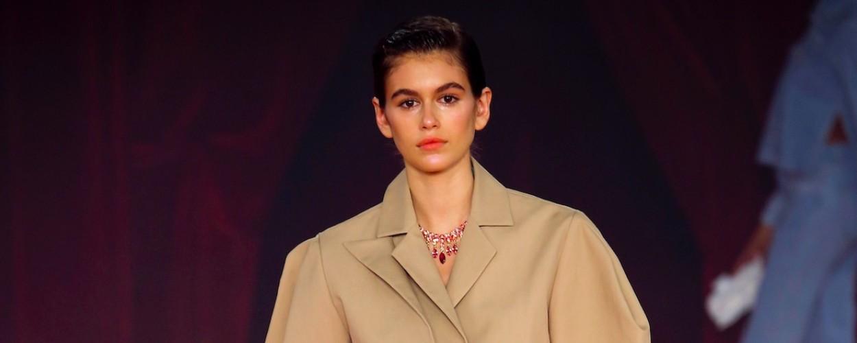 Kaia Gerber Off White Modepilot summer 2018 runway catwalk all designers