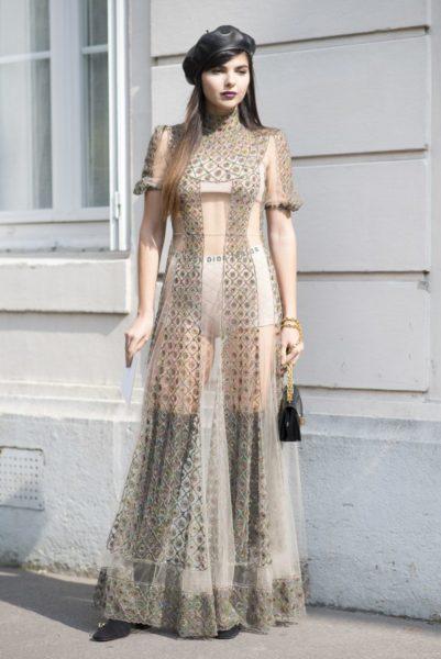 Das Dior-Barett, again