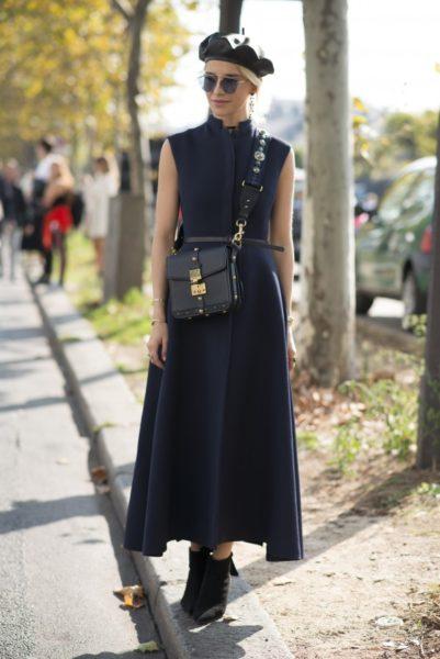 Noch einmal, das Dior-Barett bei Caro Daur in Paris
