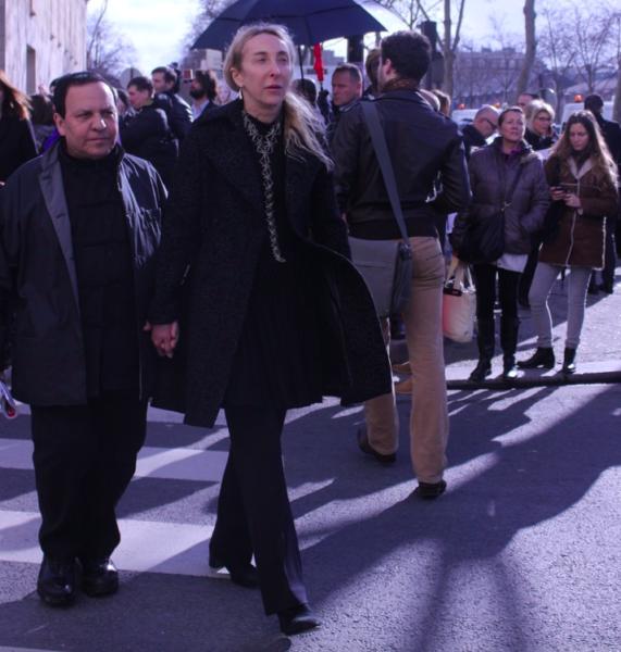 Azzedine Alaïa mit seiner besten Freundin Carla Sozzani (Gründerin des Concept Stores 10 Corso Como)