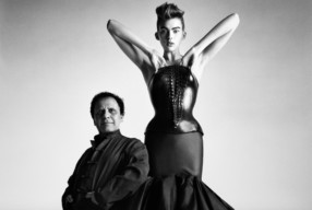 Azzedine Alaia Portrait gestorben Modepilot