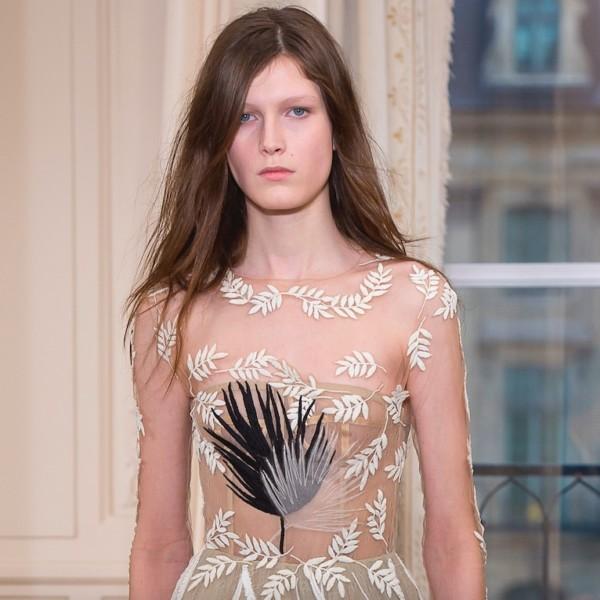 Währenddessen bei der Haute Couture in Paris: Crystal Mesh