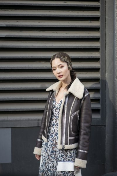 Streetstyle bei 3.1 Phillip Lim in New York