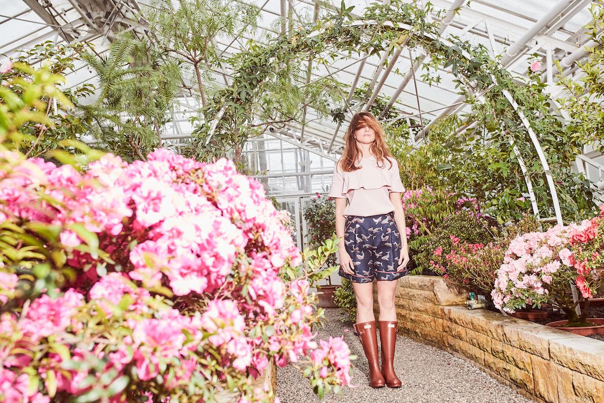 Antonia Zander Lacoste Hunter Modepilot Botanischer Garten Kopie