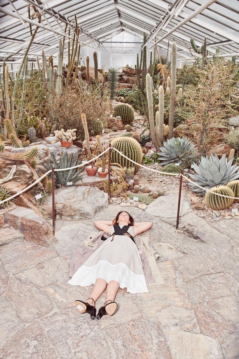 Dorothee Schumacher Sommerkleid Modepilot Botanischer Garten Kopie