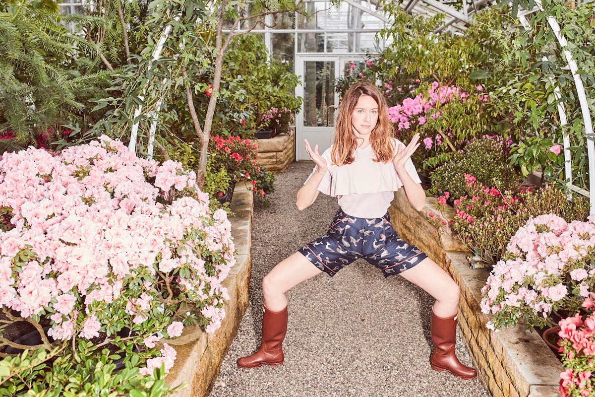 Lacoste Antonia Zander Botanischer Garten Modepilot Kopie
