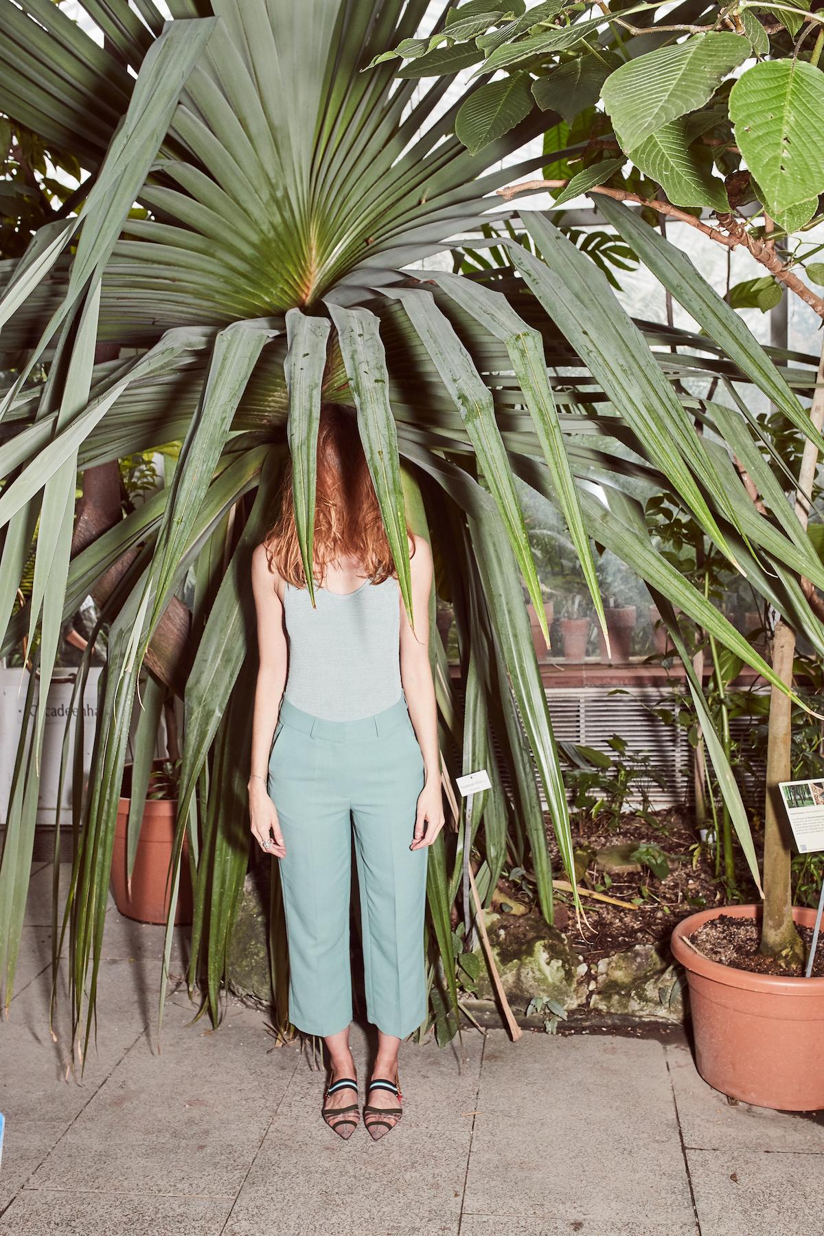 Samsoe Samsoe Fendi Modepilot Botanischer Garten Kopie