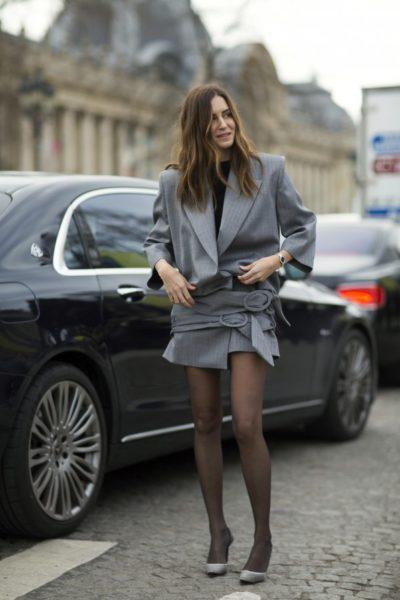 Instgrammerin Gala Gonzalez kurz vor der Chanel-Show