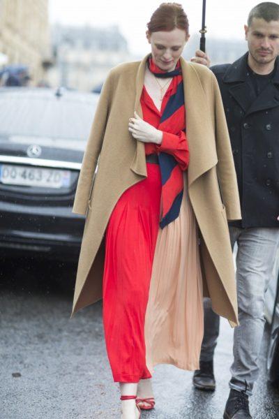 Model und Musikerin Karen Elson bei Givenchy