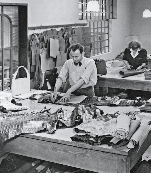 Stefano Serapian in seinem Atelier