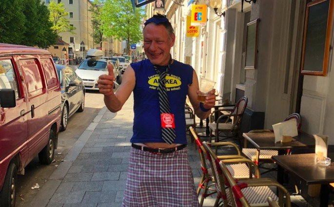 Jürgen Orlowski Modepilot Türkenstraße Street Style