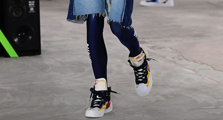 Herren Style Sacai Modepilot 2019 Legging Sneaker Denim Jeans