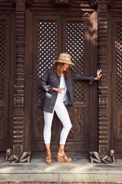 Jeansjacke aus der aktuellen Sommerkollektion von Longchamp