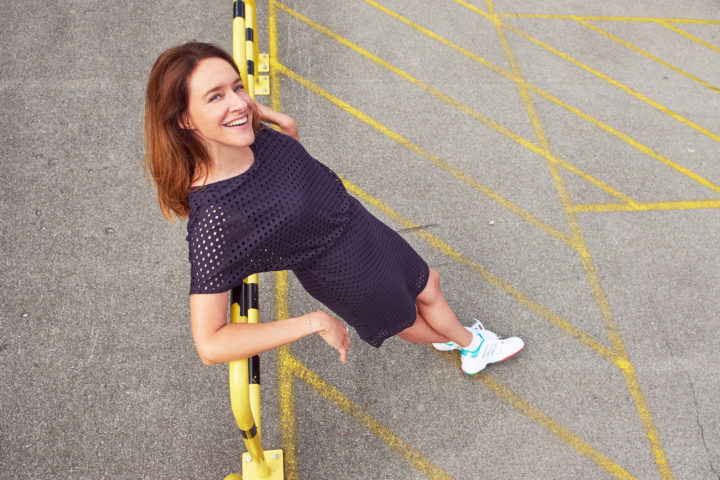 Modepilot Jerseykleid Sneaker Tennis Socken Bonita