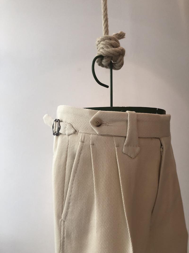 Pommella Modepilot white pants Florence