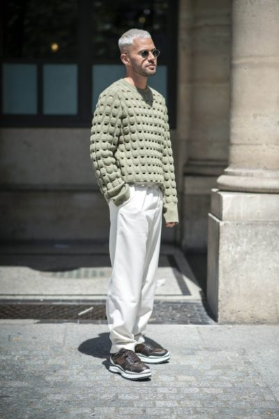 Bei Louis Vuitton in Paris entdeckt
