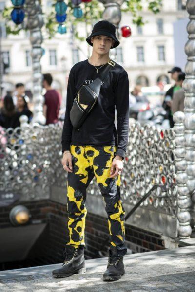 Gesehen bei Louis Vuitton in Paris