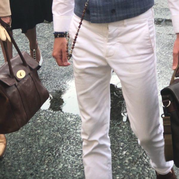 Herrenmode: Die weiße Hose ist das große Thema