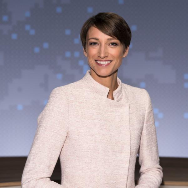 Hinter den Kulissen: Mit Nachrichtenmoderatorin bei der Themenkonferenz